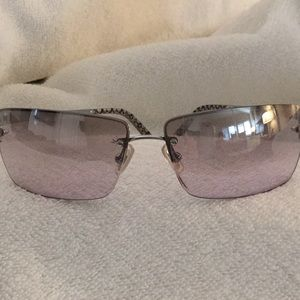 Vintage Coach small wire frame Sunglasses